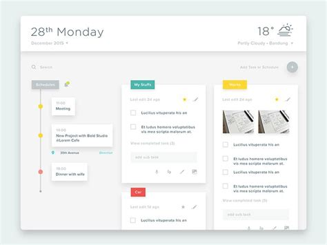 Planner Memo Schedule Medium 17 best images about web site design inspiration user