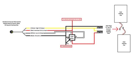 wiring diagram heated seat and grips heated grip repair