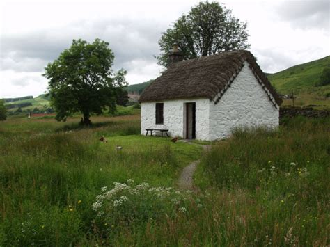 Small House Kits Scotland House Plans And Design House Plans Small Thatched Cottage