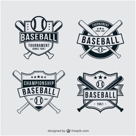 Kaos Baseball 49 baseball vectors photos and psd files free