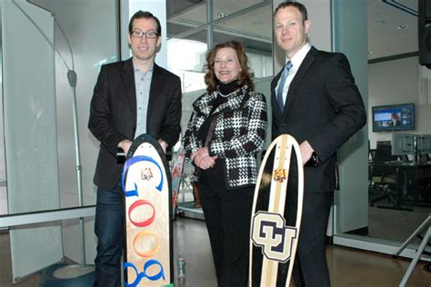 Cu Denver Mba Entrepreneurship by Student Project Fuels Longboard Firm S Growth Cu Denver