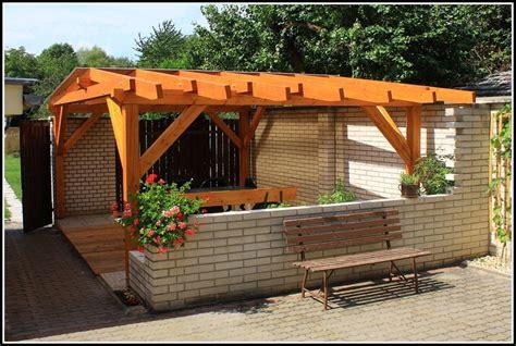 terrassenueberdachung selber bauen kosten  page