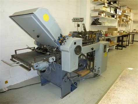 Stahl Paper Folding Machine - folders used finishing machines stahl t 50 4 f paper
