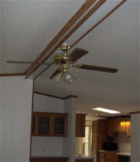 mobile home ceiling fans manufactured home redo living room redo
