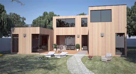 Extension Maison Toit Plat 633 by Maison Contemporaine 130m2 Yg84 Montrealeast