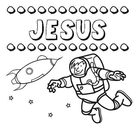 imagenes de jesus bebe para colorear dibujo con el nombre jes 250 s para colorear pintar e imprimir