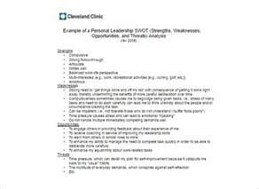 swot analysis template free word pdf sample creative