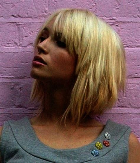 short hair cuts for round faces riawna capri 17 best ideas about short haircuts with bangs on pinterest