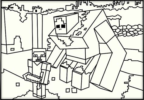 minecraft coloring sheets minecraft coloring pages