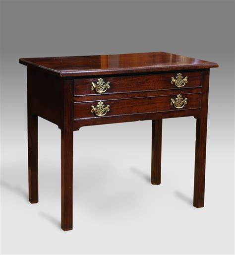 Mahogany Side Table Antique Mahogany Low Boy Small Antique Side Table Small Mahogany Side Table Georgain Lowboy