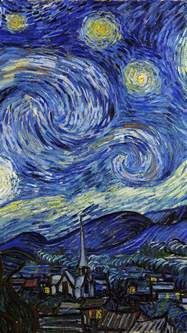 Starry Night Aj42 Vincent Van Gogh Starry Night Classic Painting Art
