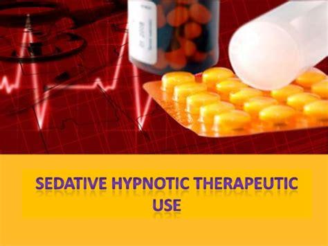 Tranquilizer Used For Detox by Sedative Hypnotic By Sanjana