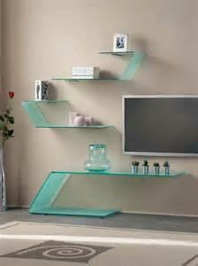 interior design tips glass shelf brackets as decorative