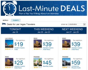 best site for last minute hotel deals expedia tries out new last minute deals relying on user