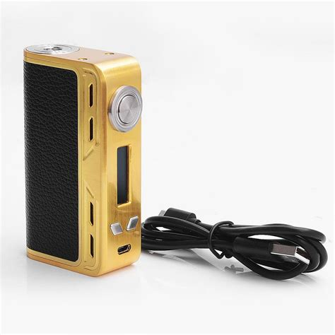 Mod Smoant Charon 218watt Authentic authentic smoant charon 218w tc vw gold variable wattage box mod
