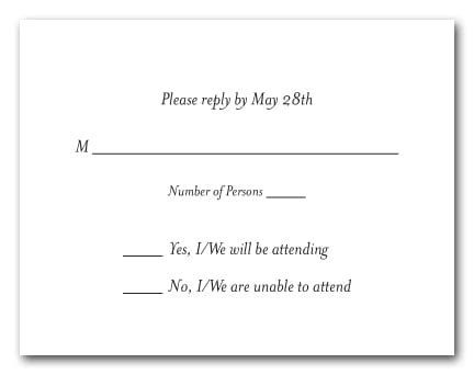 blank rsvp card template white rsvp cards white response cards white reply cards