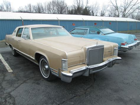 lincoln car auction 1979 lincoln continental town car only 92349 no