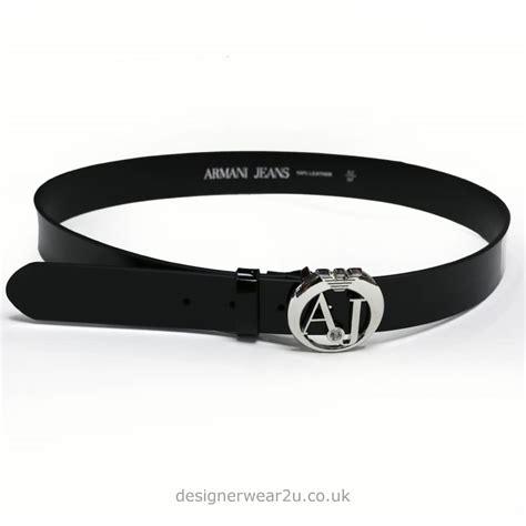 Cp Logo Black Aj armani armani black patent belt with