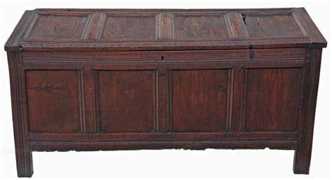 oak ottoman chest georgian oak mule chest coffer ottoman log basket