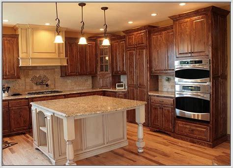 wooden floors in kitchen