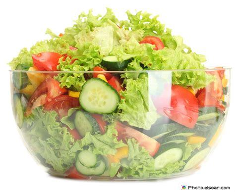 fresh vegetable salads glass bowls elsoar