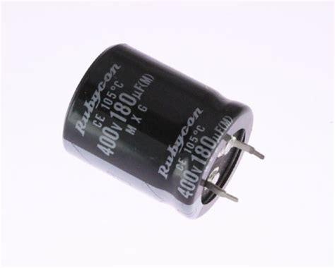 rubycon aluminium capacitor 400mxg181m rubycon capacitor 180uf 400v aluminum electrolytic snap in high temp 2020030684
