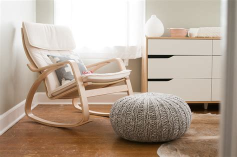 White Comfy Chair Design Ideas Modern Rocking Chair For Nursery Homesfeed