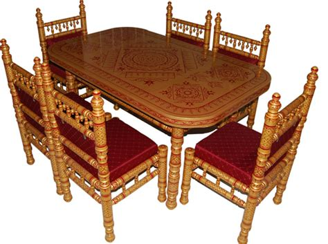 wooden dining tables in near bank of baroda sankheda