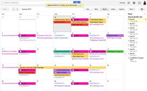 color coded calendar template color coded calendar template free calendar template