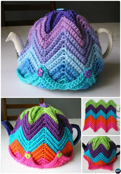 tea cosy knitting patterns easy 25 crochet knit tea cozy free patterns