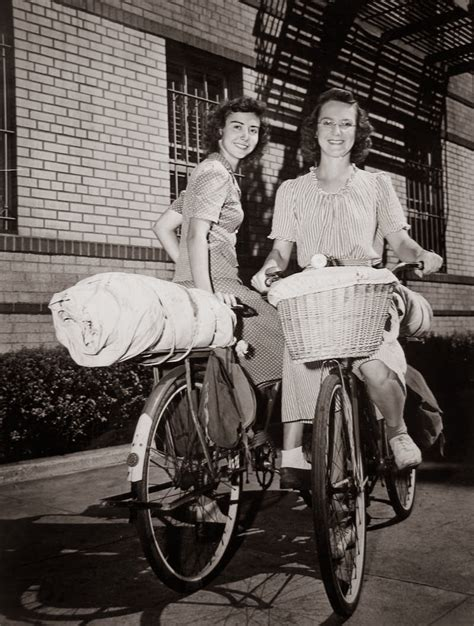 Spinning Bike America White two bicycling across america in 1944 vintage everyday