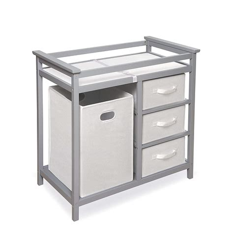 grey baby changing table top 10 best changing tables with drawers heavy com