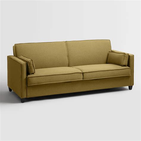 foldable sofa maize nolee folding sofa bed world market