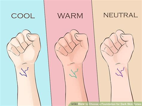 3 ways to choose a foundation for skin tones wikihow