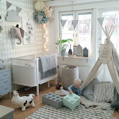 kids bedroom teepee cluttered wall teepee sign house shelves bunting kids