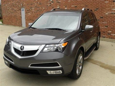 2012 acura mdx advance package find used 2012 acura mdx sh awd w advance package in
