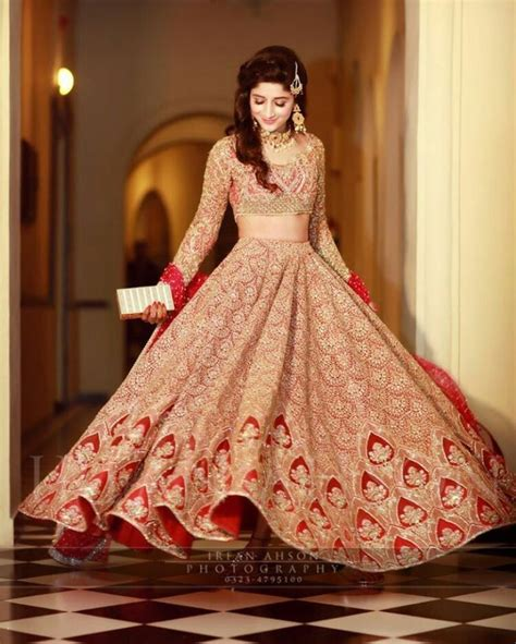 cute pakistani bridal girls wedding dresses collection