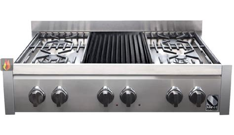 table de cuisson mixte gaz vitroceramique table de cuisson mixte gaz barbecue vitroc 233 ramique 90 cm
