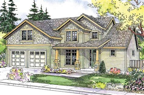 craftsman houses plans craftsman house plans brightwood 30 527 associated designs