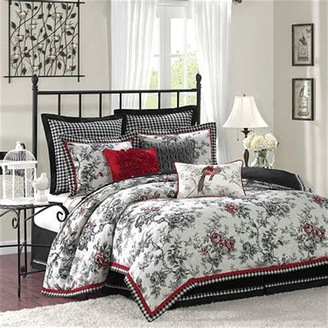 kohls bedding winter style   home pinterest white bedding  red accents