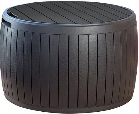 round outdoor bench storage benches insteading