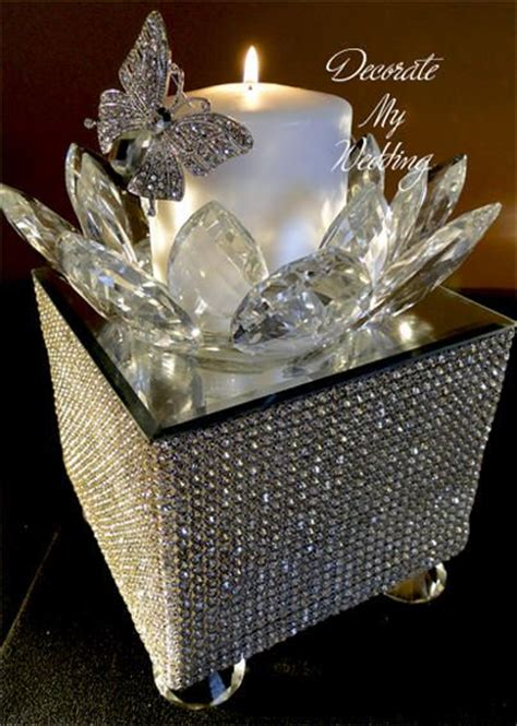 wedding centerpieces with crystals 25 best ideas about centerpieces on