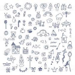 how to make doodle vector set of doodles doodle children drawing
