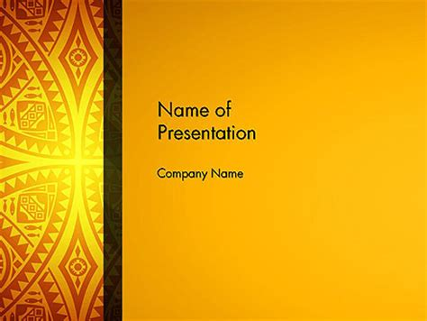Ethnic Ornament Powerpoint Template Backgrounds 13104 Poweredtemplate Com Ethnic Powerpoint Templates