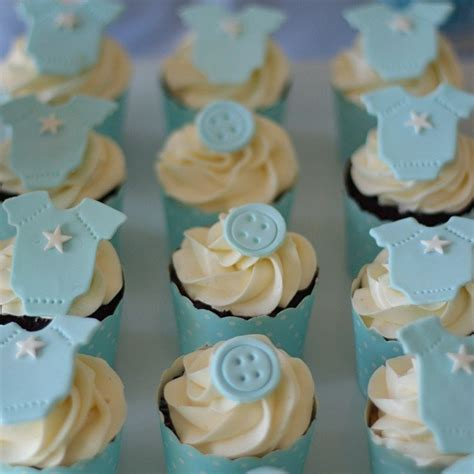 Baby Shower Cupcakes by Baby Shower Cupcake Inspiration Popsugar