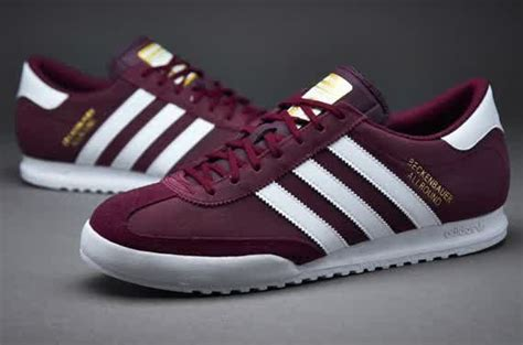 Sepatu Adidas Superstar Putih Gold Made In sepatu sneakers adidas originals beckenbauer maroon white