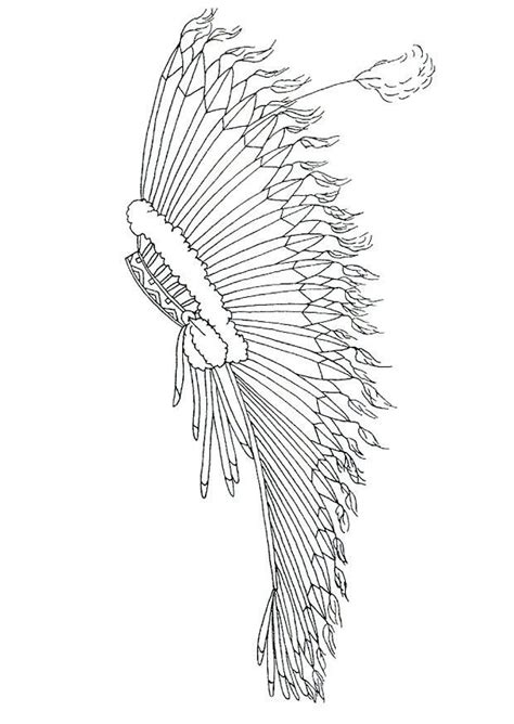 headdress coloring page indian headdress coloring page coloring home