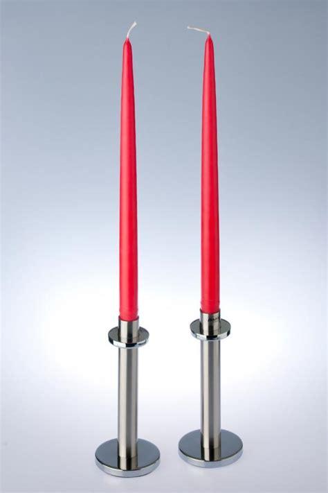 Kerzenhalter Lange Kerzen by Skandinavien Flair 1 Paar Rote Kerzen Gro 223 Kaufen