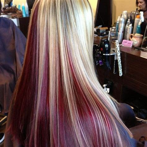 photo of relaxed hair that has been streaked grry best 25 dyed hair underneath ideas on pinterest crazy