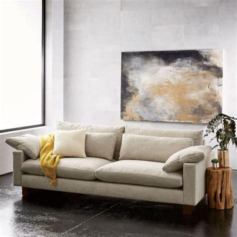 harmony sofa west elm harmony grand sofa extra deep west elm